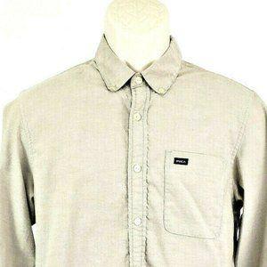 Men's RVCA Thatll Do Oxford Long Sleeve Shirt